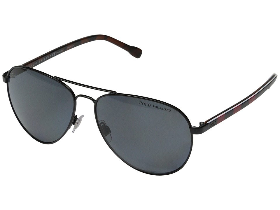 Polo Ralph Lauren - 0PH3090 (Black) Fashion Sunglasses
