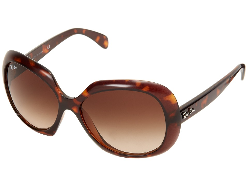Ray-Ban - RB4208 55mm (Top Havana) Fashion Sunglasses