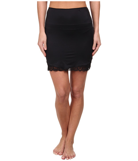 Hanro - East River Half Slip (Black) Women