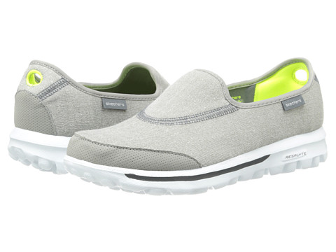 SKECHERS Performance - Go Walk Impress (Gray) Women's Shoes