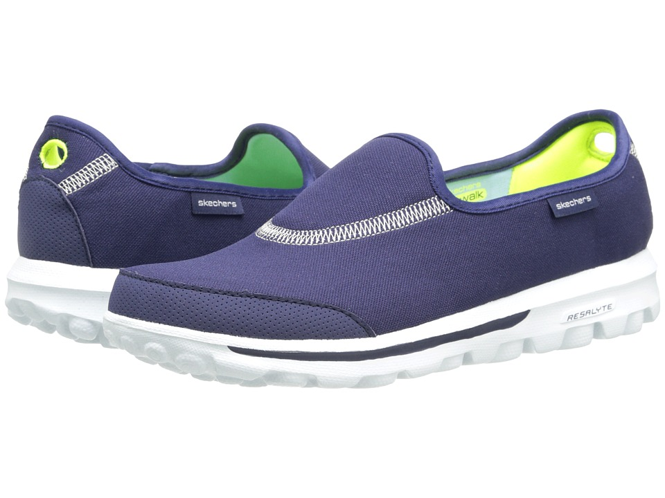 SKECHERS Performance - Go Walk Impress (Navy/White) Women's Shoes