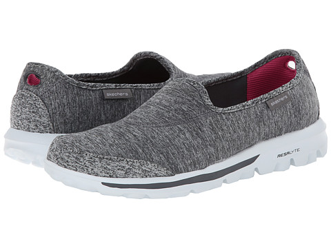 SKECHERS Performance Go Walk (Gray) Women's Shoes