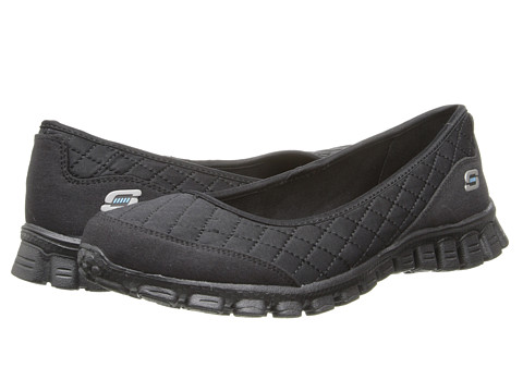 SKECHERS - Spruced-Up (Black) Women's Shoes