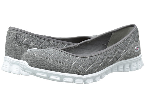 SKECHERS - Spruced-Up (Gray) Women's Shoes