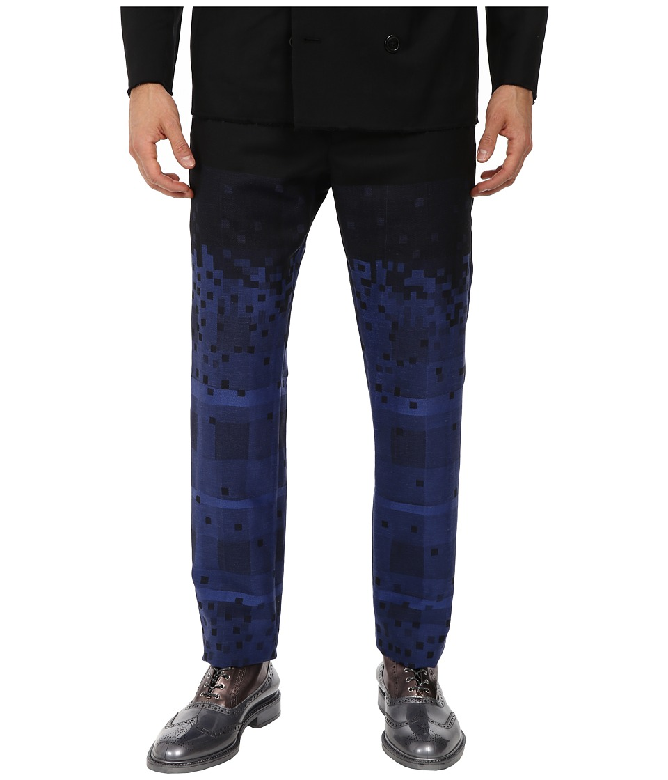 Vivienne Westwood - Tartans Diamonds Trouser (Black/Blue) Men's Casual Pants