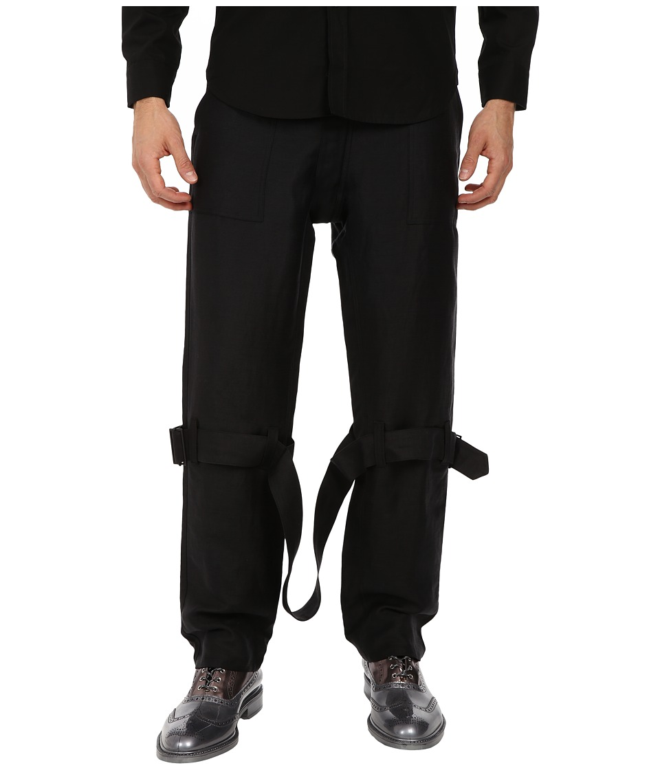 Vivienne Westwood - Skinny Bondage Trouser (Black) Men's Casual Pants