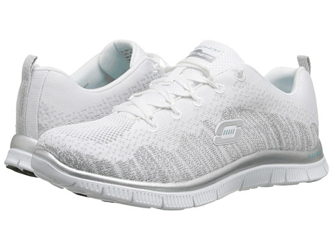SKECHERS - Instant Hit (White) Women's Running Shoes
