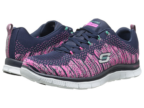 SKECHERS - Flex Appeal (Navy Mint) Women