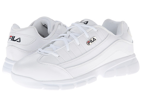 Fila - Homestown Se (White/Fila Navy/Fila Red) Men's Shoes