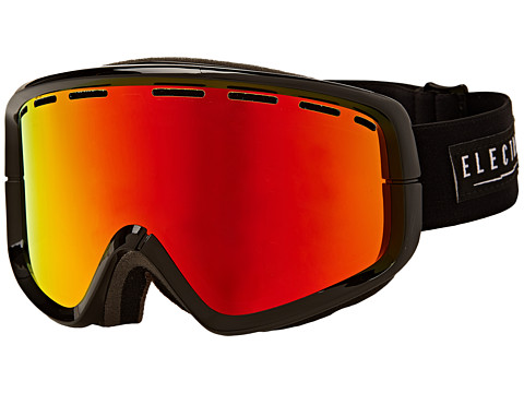 Electric Eyewear - EGB2 Gloss Black Bonus Lens (Bronze/Red Chrome) Snow Goggles