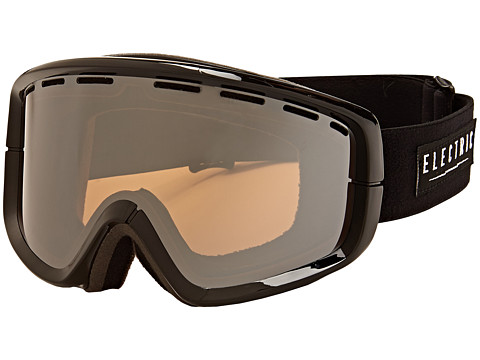 Electric Eyewear - EGB2 Gloss Black Bonus Lens (Bronze/Silver Chrome) Snow Goggles