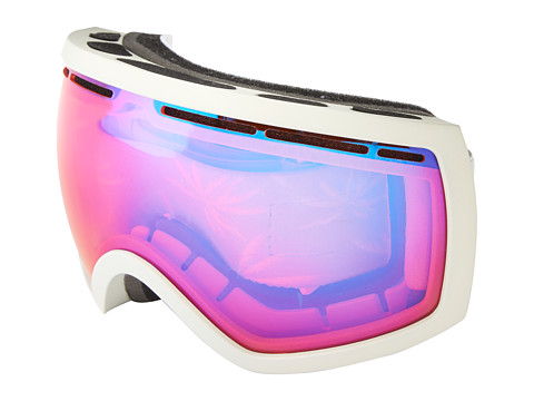 Electric Eyewear - EG2.5 White Tropic Bonus Lens (Rose/Blue Chrome) Snow Goggles