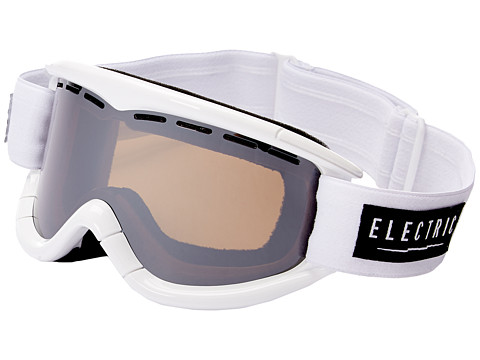 Electric Eyewear - EG1K Gloss White (Bronze/Silver Chrome) Snow Goggles
