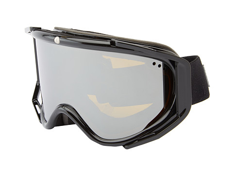 Electric Eyewear - RIG Gloss Black Bonus Lens (Bronze/Silver Chrome) Snow Goggles