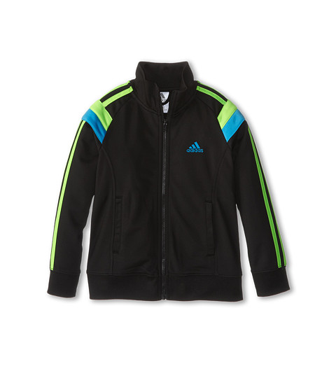adidas Kids - Anthem Jacket (Toddler/Little Kids) (Black 1) Boy's Coat