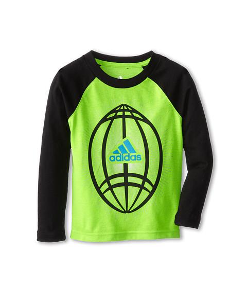 adidas Kids - Sport Explosion Tee (Toddler/Little Kids) (Solar Green) Boy