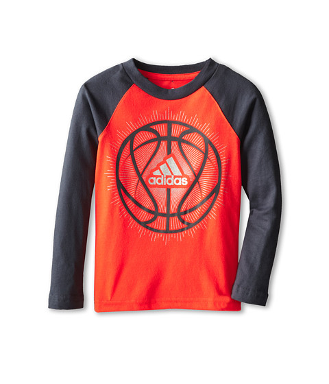 adidas Kids - Sport Explosion Tee (Toddler/Little Kids) (Solar Red) Boy