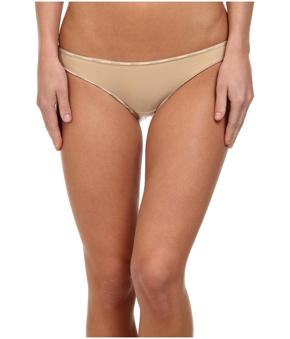 DKNY Intimates - Heritage Bikini 543254 (Skinny Dip/Brownie) Women's Underwear