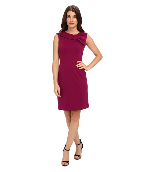 Tahari by ASL - Luca - M (Currant) Women's Dress