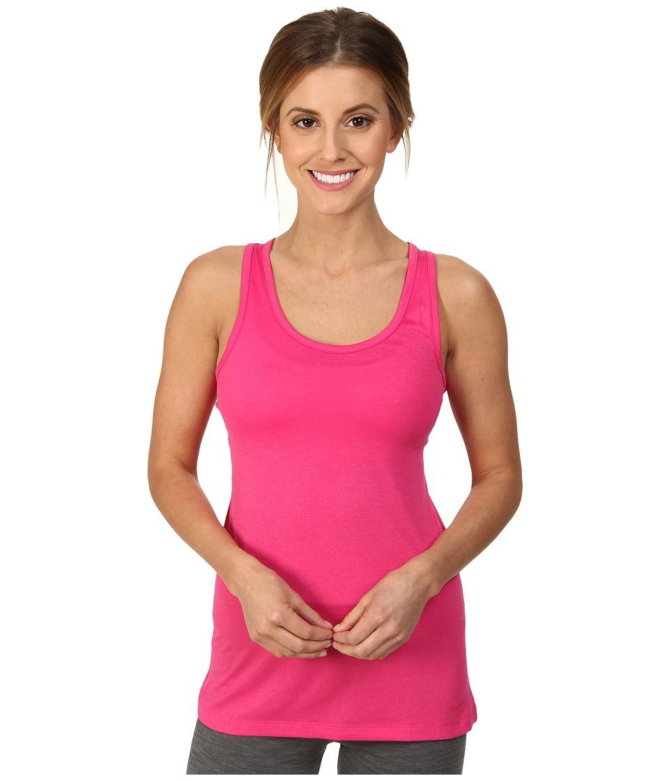 Nike - Dri-FIT Balance Tank Top (Vivid Pink/Vivid Pink) Women's Sleeveless