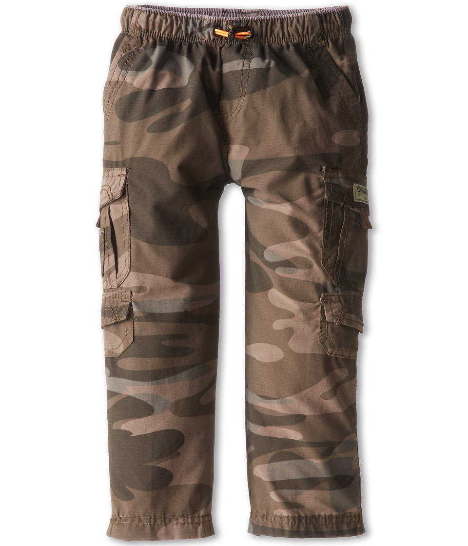 UNIONBAY Kids - Brooks 360 Camo Cargo Pant (Toddler/Little Kid) (Army Camo) Boy