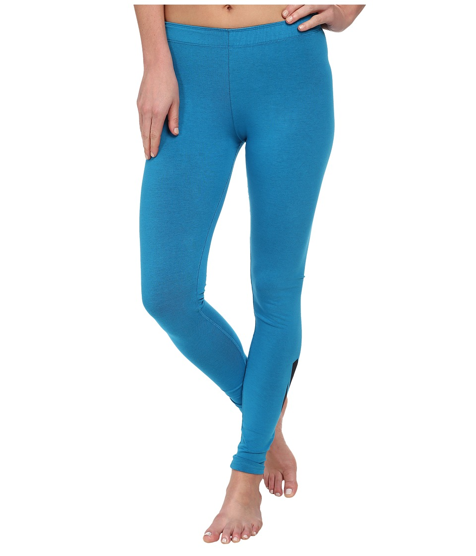 Nike - Leg-A-See Logo (Light Blue Lacquer/Black) Women's Casual Pants