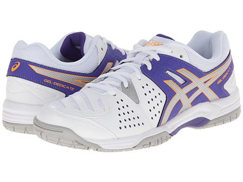 ASICS - Gel-Dedicate 4 (Lavender/Silver/Nectarine) Women's Shoes