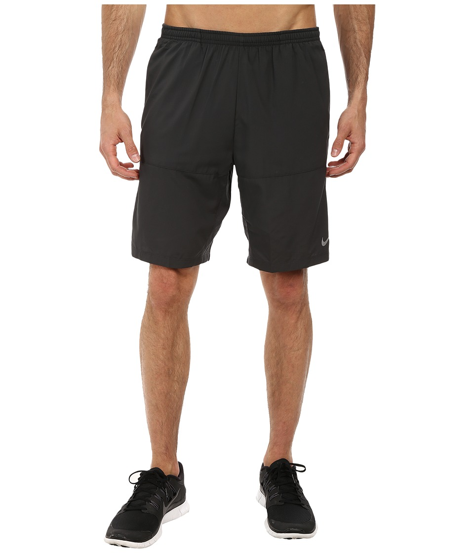 Nike - 9 Distance Running Short (Anthracite/Anthracite/Reflective Silver) Men's Shorts