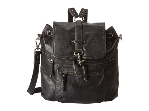 The Sak - Mariposa Convertible Backpack (Black) Backpack Bags