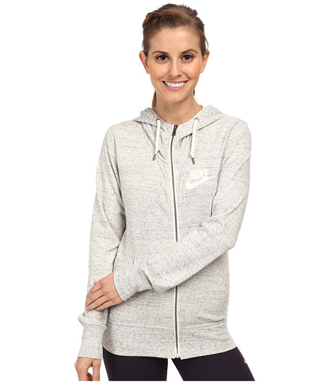 UPC 888407001598 - Nike - Gym Vintage Full-Zip Hoodie (Grey ...