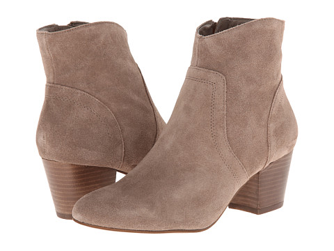 Steve Madden - Porcha (Taupe Suede) Women's Zip Boots