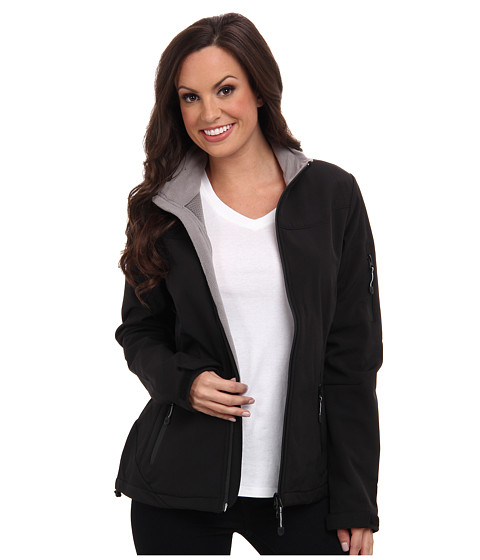 Roper - Softshell w/ Micro Fleece Jacket (Black) Women