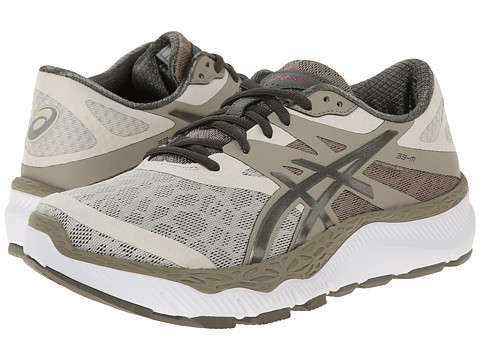 ASICS - 33-M (Sand/Olive/Khaki) Women's Running Shoes