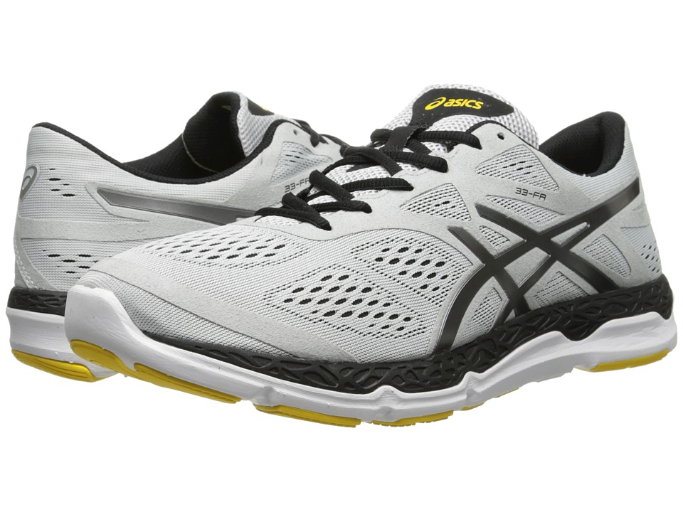ASICS - 33-FA (Cloud/Titanium/Yellow) Men's Running Shoes