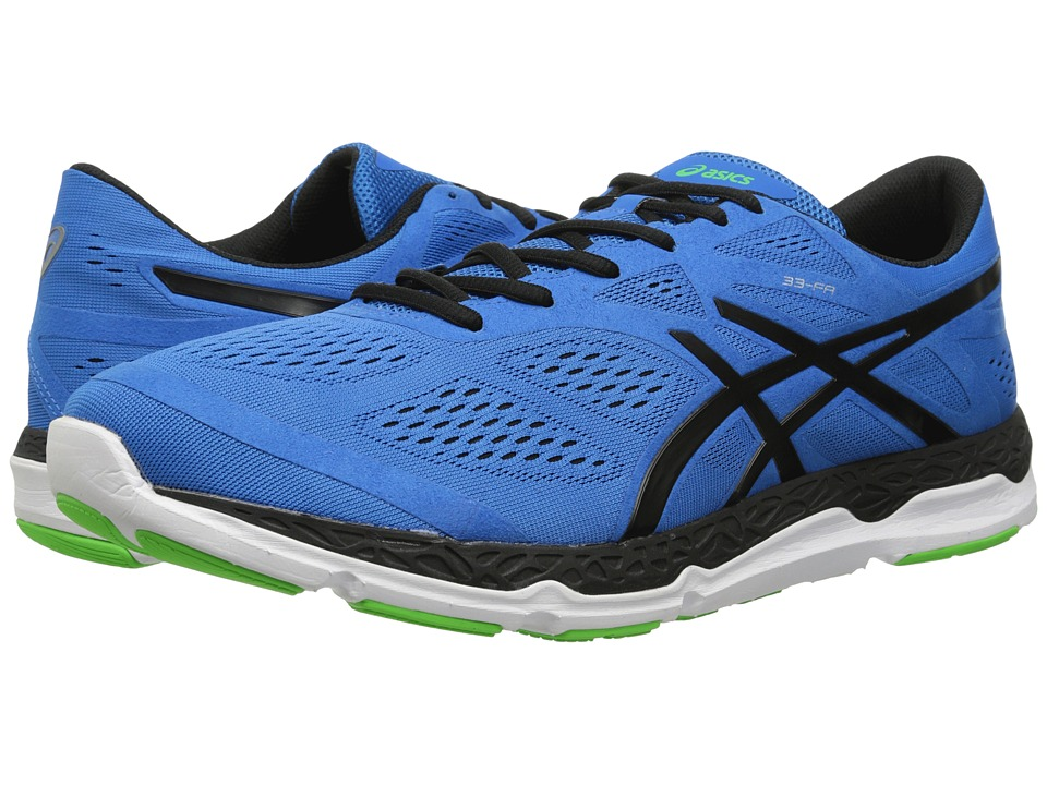 ASICS - 33-FA (Blue/Black/Flash Green) Men's Running Shoes