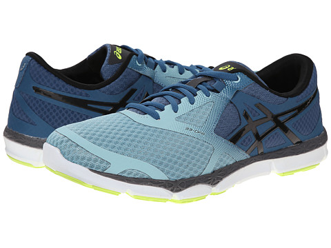 ASICS - 33-DFA (Mallard/Black/Flash Yellow) Men's Running Shoes