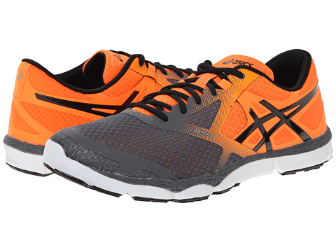 ASICS - 33-DFA (Carbon/Black/Orange) Men's Running Shoes