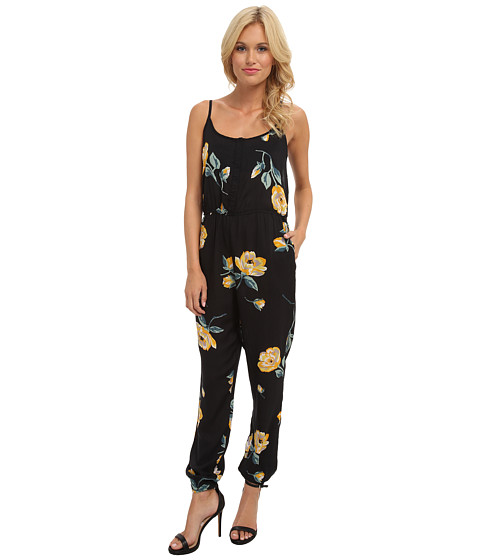 Volcom - Flux Jumpsuit (Vintage Black) Women's Jumpsuit & Rompers One Piece
