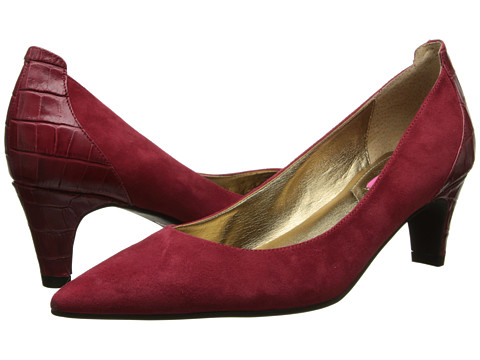 Isaac Mizrahi New York - Mara (Red Multi Suede) High Heels