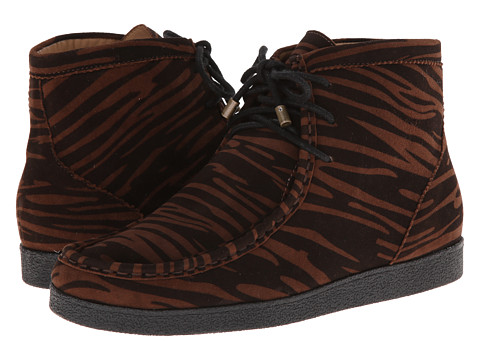 Isaac Mizrahi New York - Leopard (Tiger Print) Women's Lace-up Boots