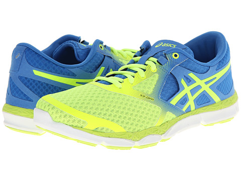 ASICS - 33-DFA (Flash Yellow/Powder Blue/White) Women's Running Shoes