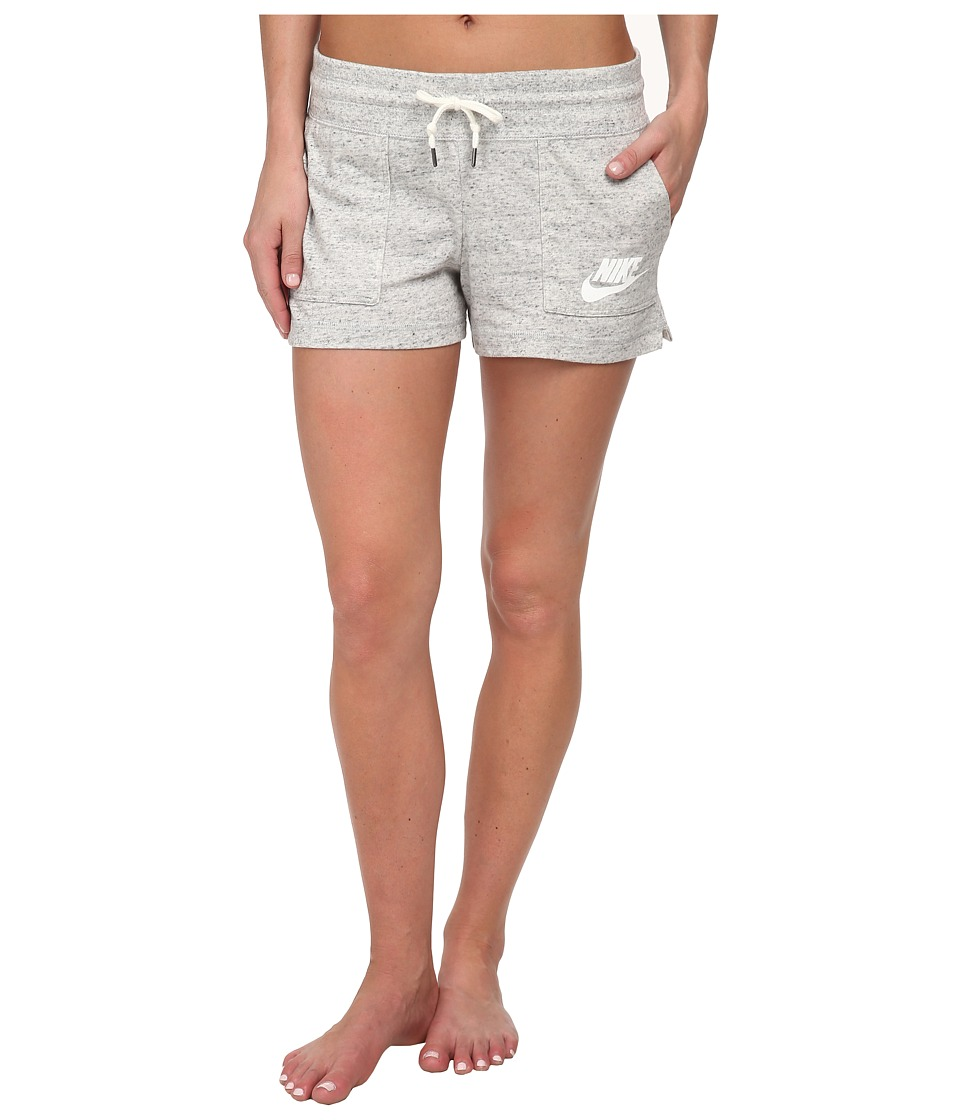 Nike - Gym Vintage Short (Grey Heather/Sail) Women's Shorts