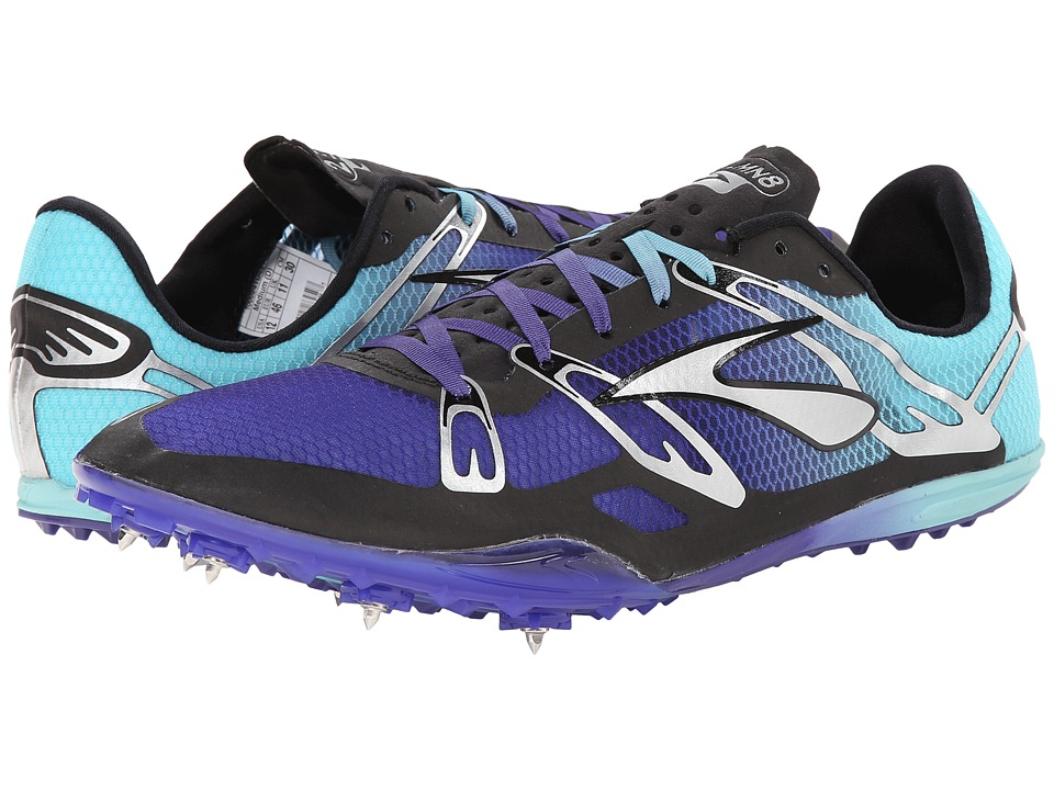 Brooks 2 ELMN8 (Deep Blue/Blue Radiance) Running Shoes