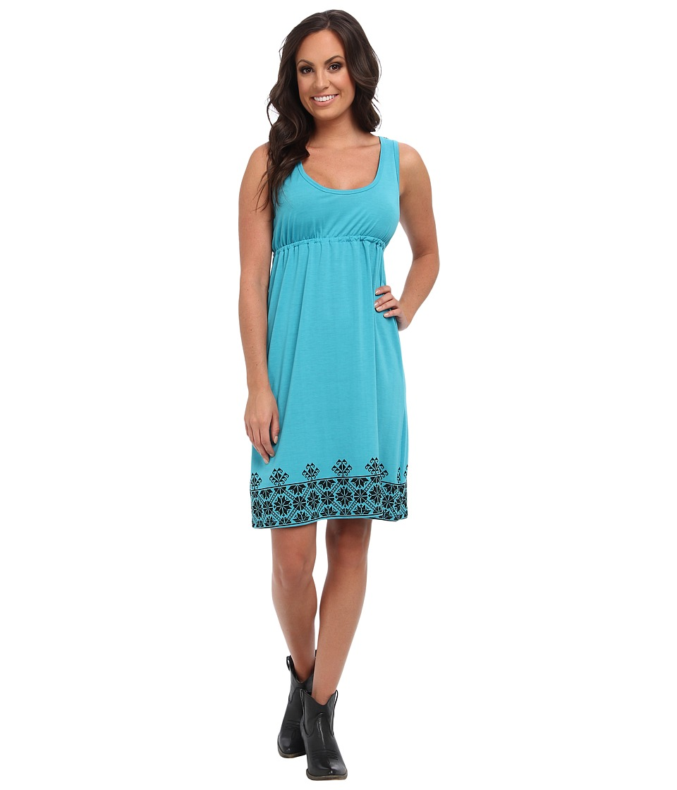 Roper 9237 Poly Spandex Jersey Dress (Blue) Women