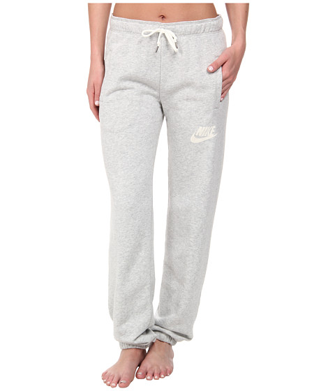 Nike - Rally Loose Pant (Grey Heather/Sail) Women