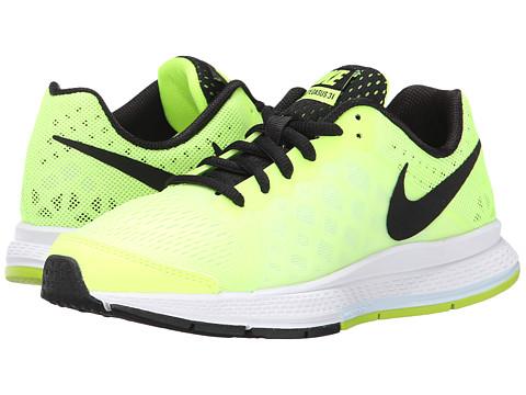 Nike Kids - Zoom Pegasus 31 (GS) (Little Kid/Big Kid) (Volt Ice/Volt/Antartica/Black) Boys Shoes