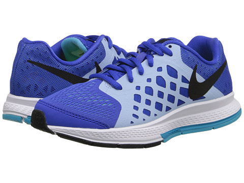 Nike Kids - Zoom Pegasus 31 (GS) (Little Kid/Big Kid) (Lyon Blue/Clearwater/Blue Lagoon/Black) Boys Shoes