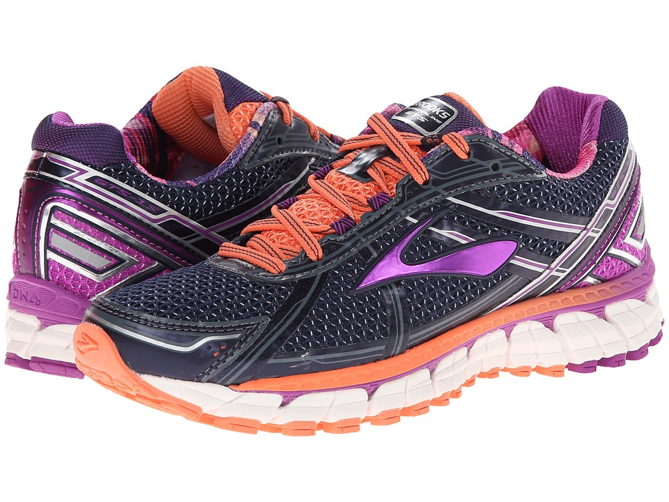 Brooks Adrenaline GTS 15 (Peacoat/Purple Cactus Flower/Fresh Salmon) Women