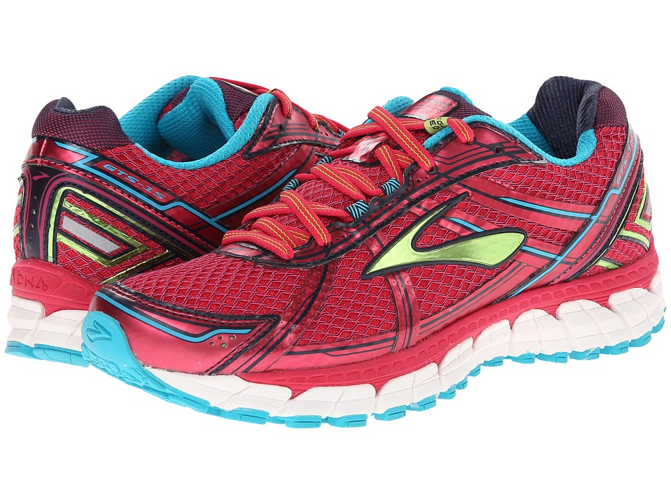 Brooks - Adrenaline GTS 15 (Raspberry/Lime Punch/Bluebird) Women's Running Shoes