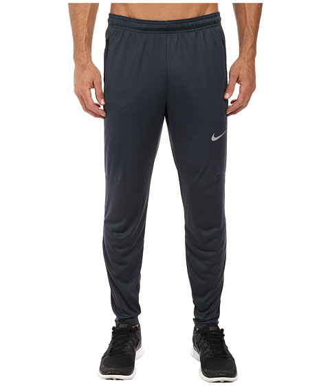 Nike - Racer Knit Track Pant (Classic Charcoal/Reflective Silver) Men's Casual Pants